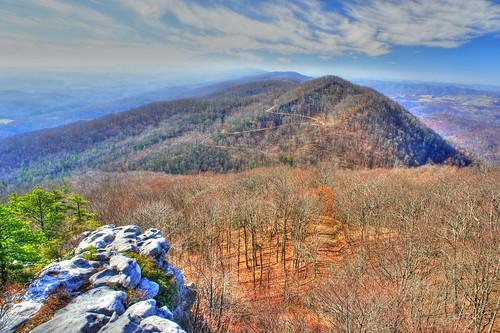 mountain pine trail birch knob