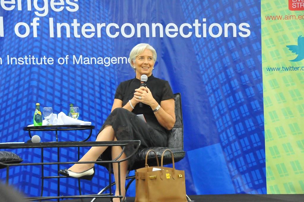 IMF Managing Director Christine Lagarde visits Philippines…   Flickr