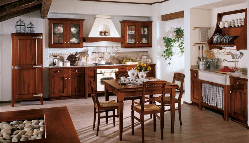 Cucine rustiche in noce | Ampia scelta di cucine rustiche in ...