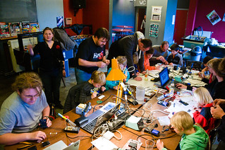 VoidWarranties Workshop for Kids, Antwerp, Belgium, Nov-2012 | by maltman23