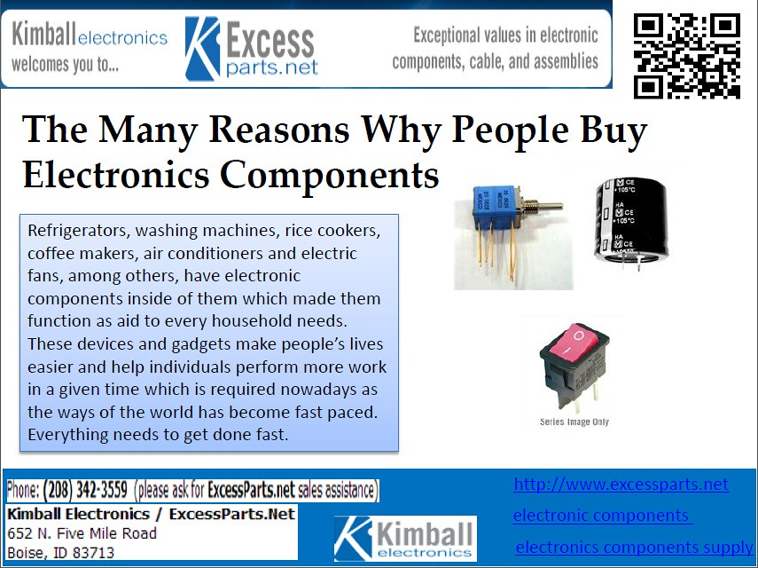 Electronic Component Online - Household Needs | (www excessp… | Flickr