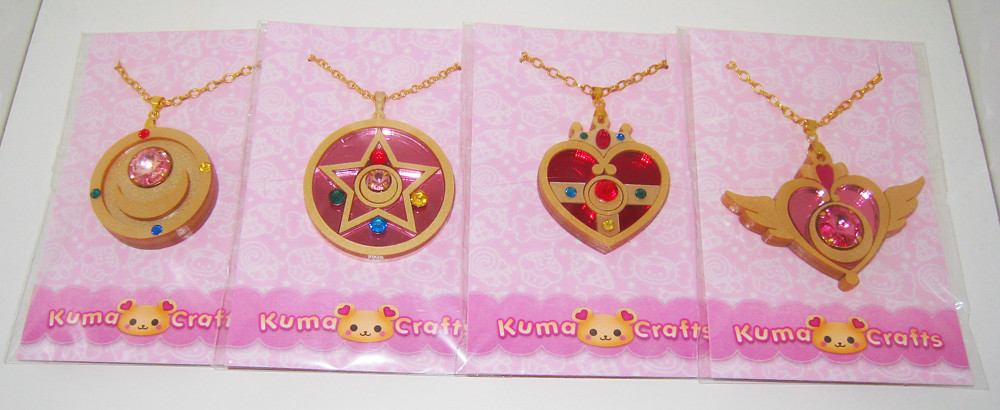 fa27ce0ab56 Kuma Crafts Sailor Moon brooches | Sailor Moon's brooches 1-… | Flickr