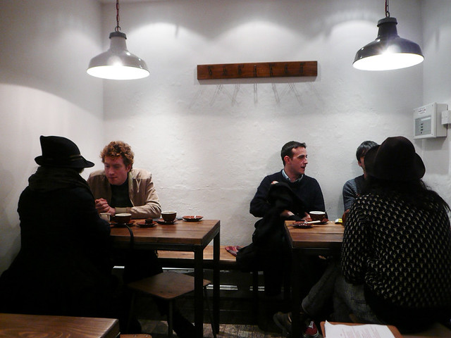 Ginger & White Cafe @ Silver Place, SOHO