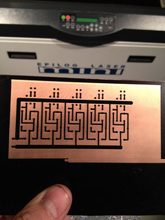 Another example of etching a mask for printed circuit board etching | by andrewsharmon