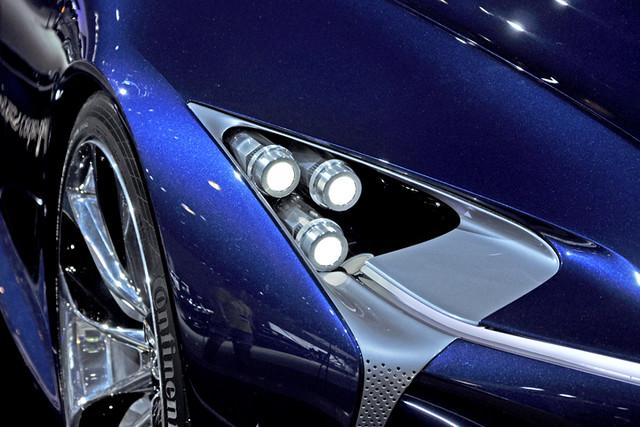 Lexus concept1 lights