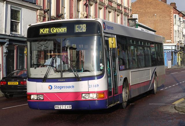 Stagecoach Wigan 21169 (R627CVR)