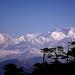 Vue sur les Himalayas