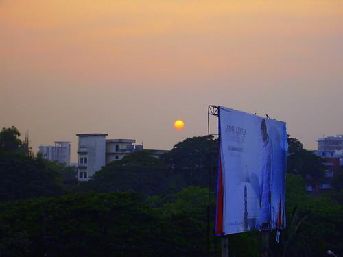 Sunset of 10.11.2012