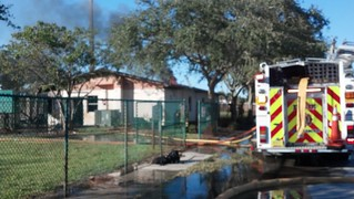 Davie Commercial Fire 11-03-12   by southfloridarest