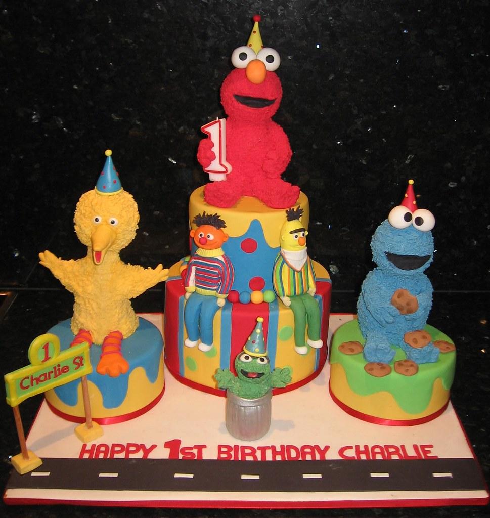 Sesame Street Birthday Cake.Sesame Street Birthday Cake Chocolate Mud Cake Sesame Str
