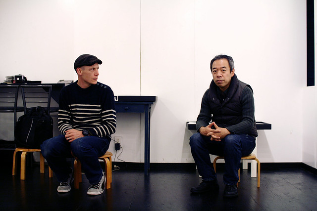 Thomas Orand and Toshiya Watanabe at Place M