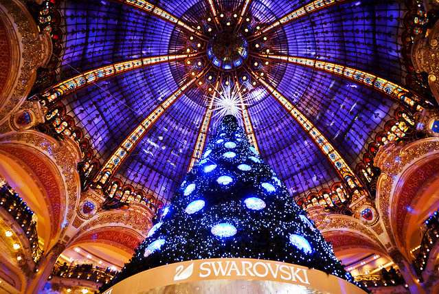 A big Christmas tree