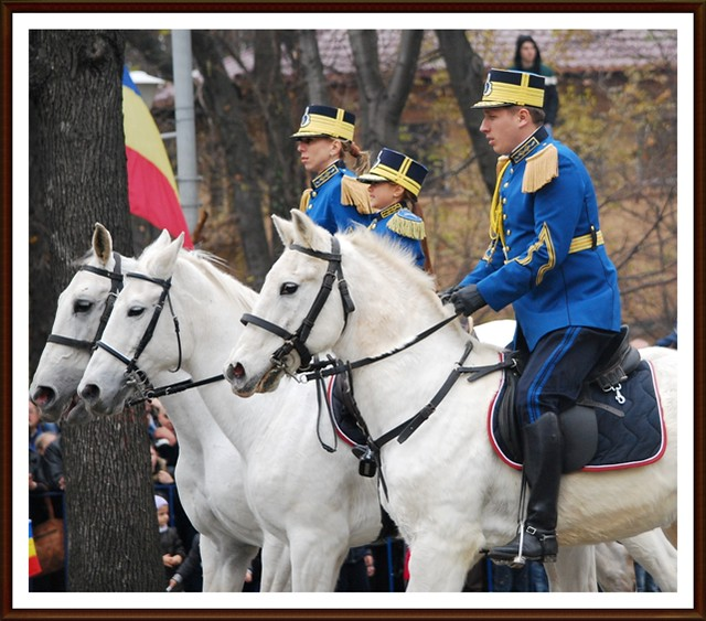 1st December - National Day of Romania - parade- 2