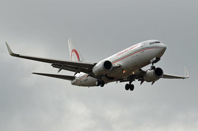Royal Air Maroc (RAM) Boeing 737-7B6 CN-RNV