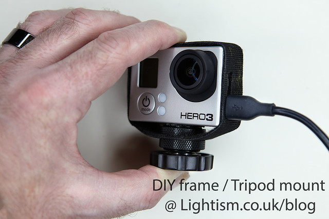 Make your own Frame & tripod mount for GoPro Hero 3 @ www.Lightism.co.uk/blog