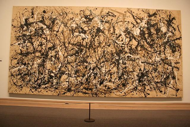 Autumn Rhythm (Number 30) by Jackson Pollock