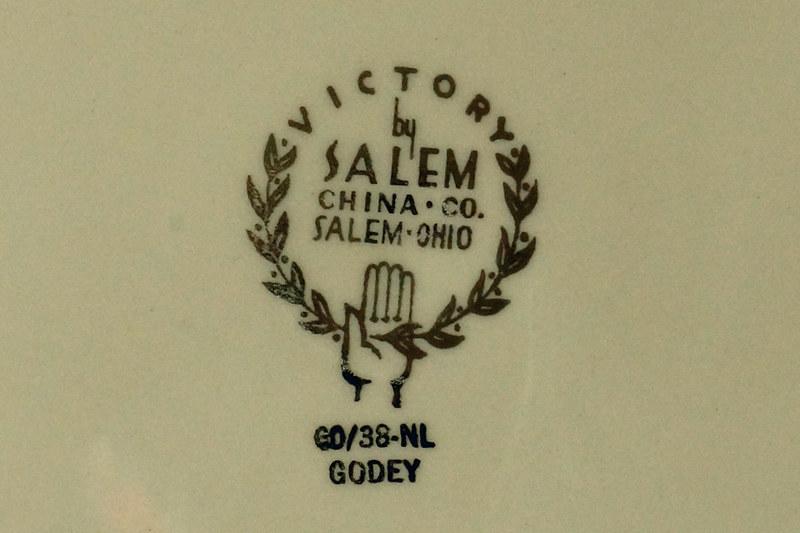 DSC01303 Salem Godey Plate with Victorian Fashion Ladies