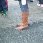 low heel knee high boots