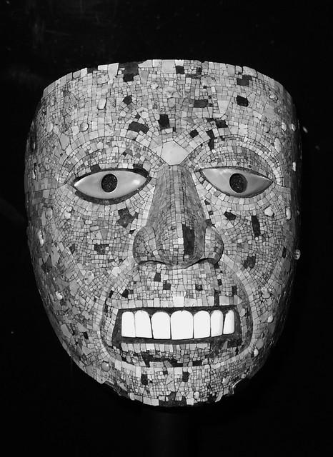 british museum . maschera azteca
