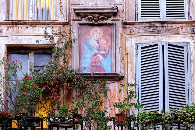 Roma. Rione Parione. Madonnella