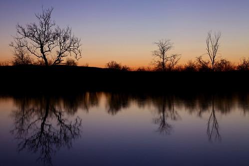 longexposure blue trees sunset sky orange lake newyork black cold reflection fall nature water night dusk air silhouettes upstate canonef24105mmf4lisusm canoneos5dmarkii