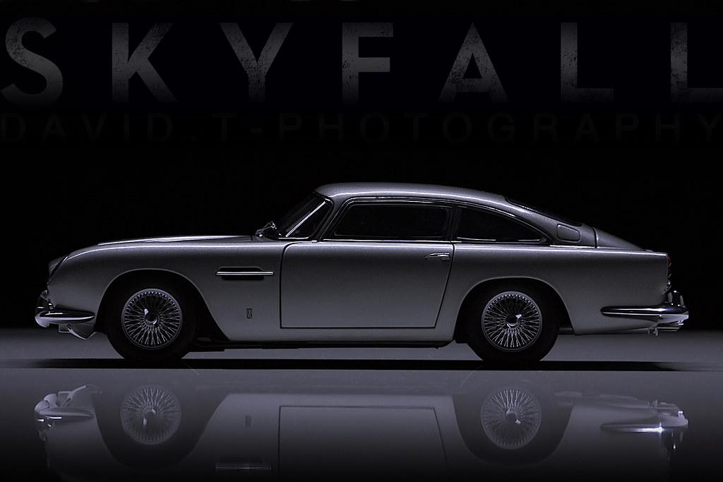 S K Y F A L L Aston Martin Db5 63 Autoart 1 18 Flickr