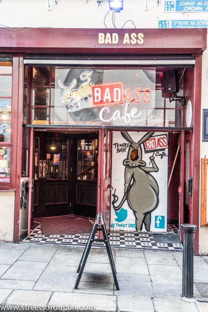 The Bad Ass Cafe in Temple Bar (Dublin)