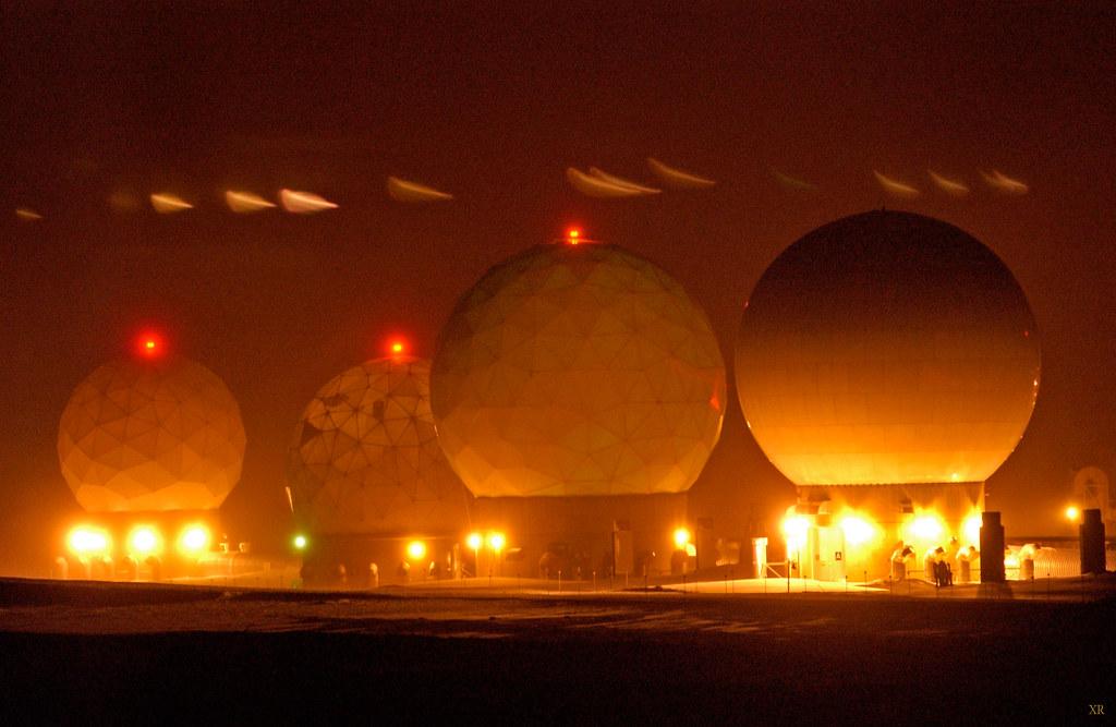 DEW Line radar- Thule AFB- Greenland | USAF- Michael Tol