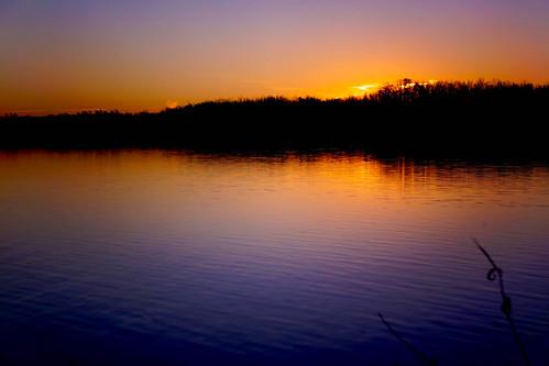 lake sunrise landscape unitedstates arkansas fayetteville