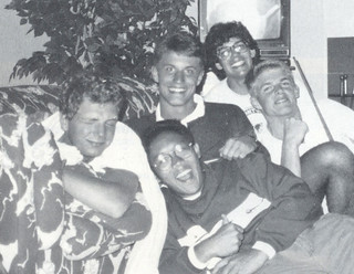 Scan from the 1993 Metate, Pomona College's yearbook