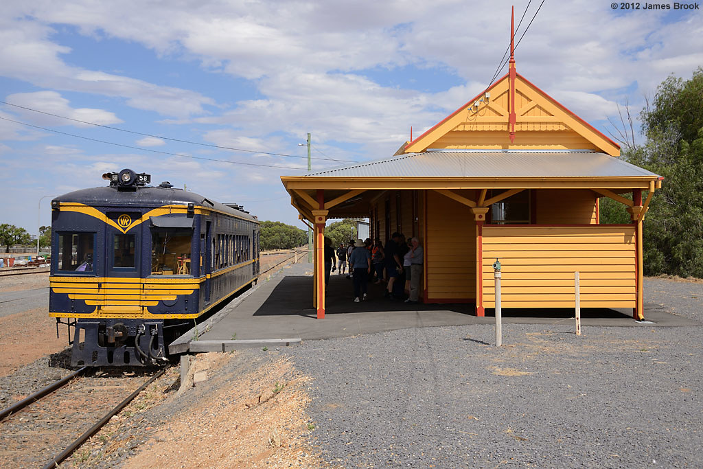 58RM at Wycheproof with 8193 by James Brook