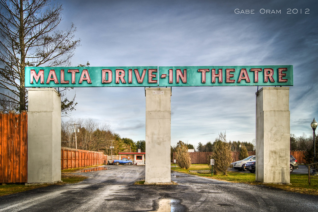Goodbye Film Malta Drive In Theatre From The Malta Drive I Flickr