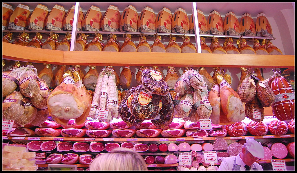 A small ham and cheese store... | Bologna is considered by ...