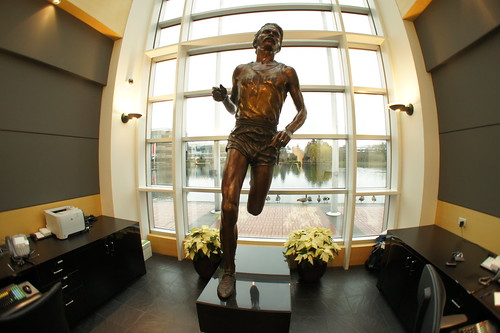 Steve Prefontaine Statue | by BadSwan