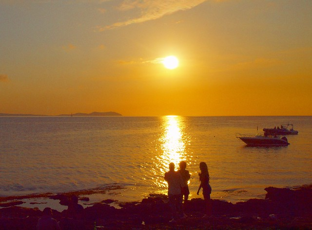 sunset by Cafe de mare P5179232