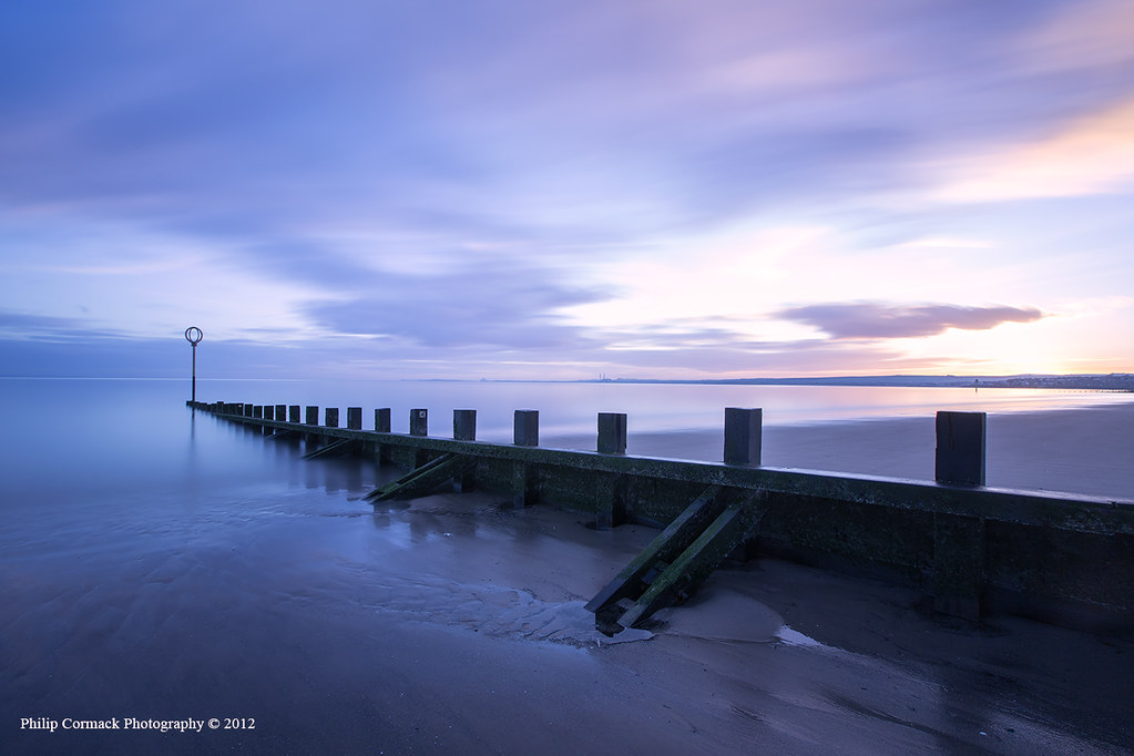 Portobello Beach at Sunrise