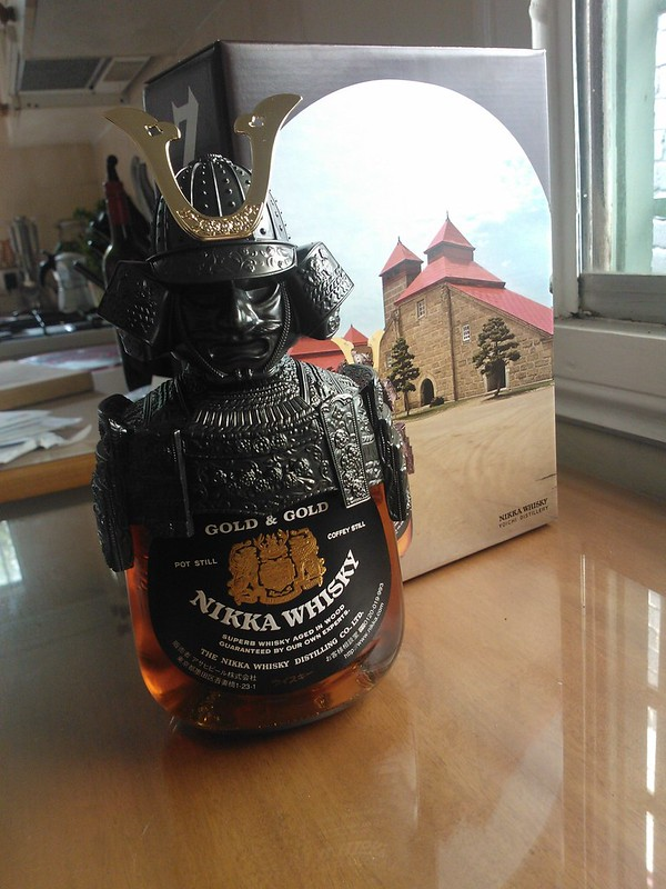 Samurai whisky!