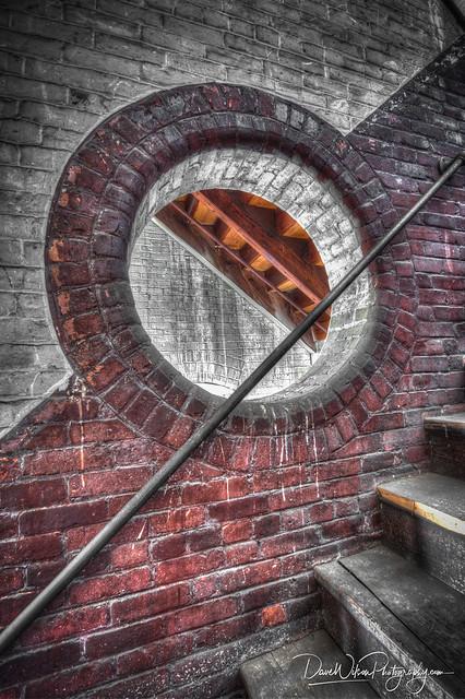 Stairwell, Everett Mill