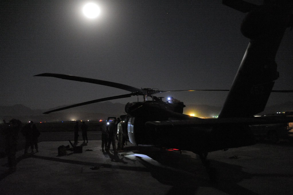 12th Combat Aviation Brigade - Afghanistan night operation