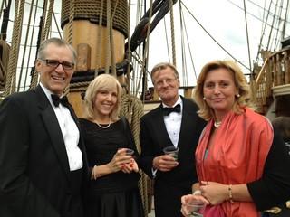 Kalmar Nyckel Gala with Swedish Ambassador