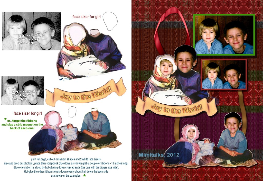 Married With Children Christmas.New Custom For Photo Nativity Ornaments Or Magnets Sho