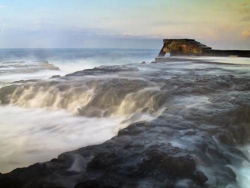ocean sunset seascape art water sunrise landscape photography hawaii photo aperture rocks artist waves photographer control image shutter coastline f22 otec slowmotion 808 fromhereonin christopherjohnson olympuse5