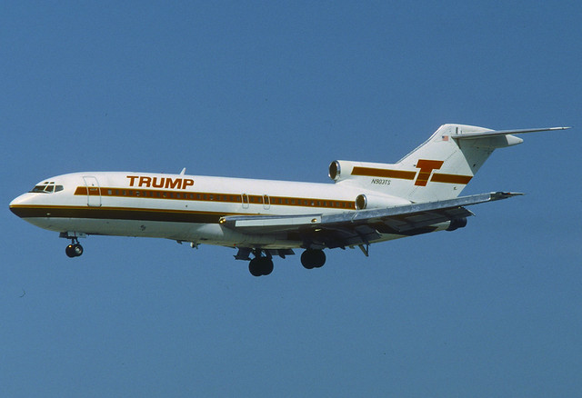 Trump Shuttle Boeing 727-25; N903TS@MIA, March 1992