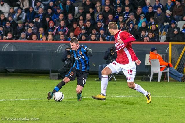 Club Brugge - Bergen: 2-0 (15 december 2012)