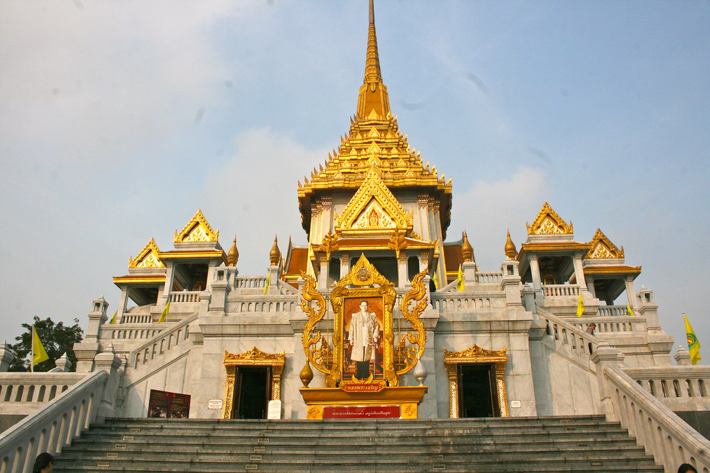 Wat Traimit Temple, home of The Golden Buddha