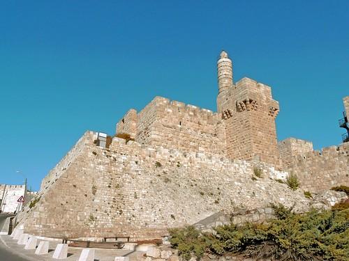 ville jérusalem église rempart