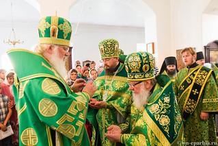 Божественная Литургия в д.Леохново 340