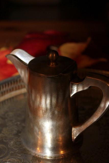 little silver jug