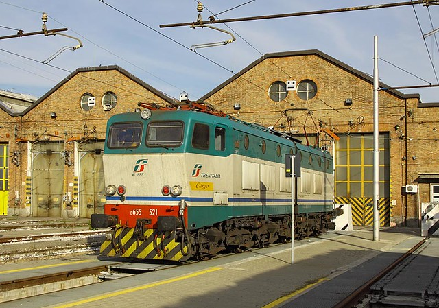 E.655 521, Bologna San Donato, 9 Nov 12