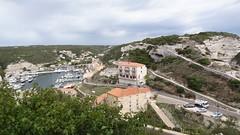 Вид из старого города Bonifacio